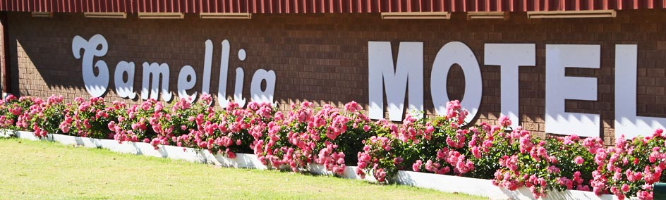 Camellia Motel - Narrandera NSW conveniently located on the Newell Highway at the northern end of Narrandera